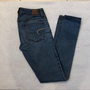 Light denim AE jeans